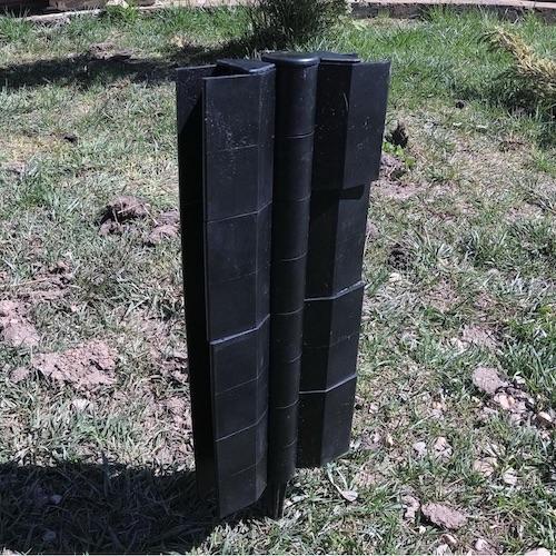 Угловой и стыковочный шарнир для грядок 300х30мм